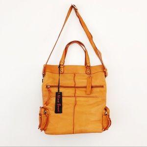 Nino Bossi Orange Crossbody/Shoulder Bag